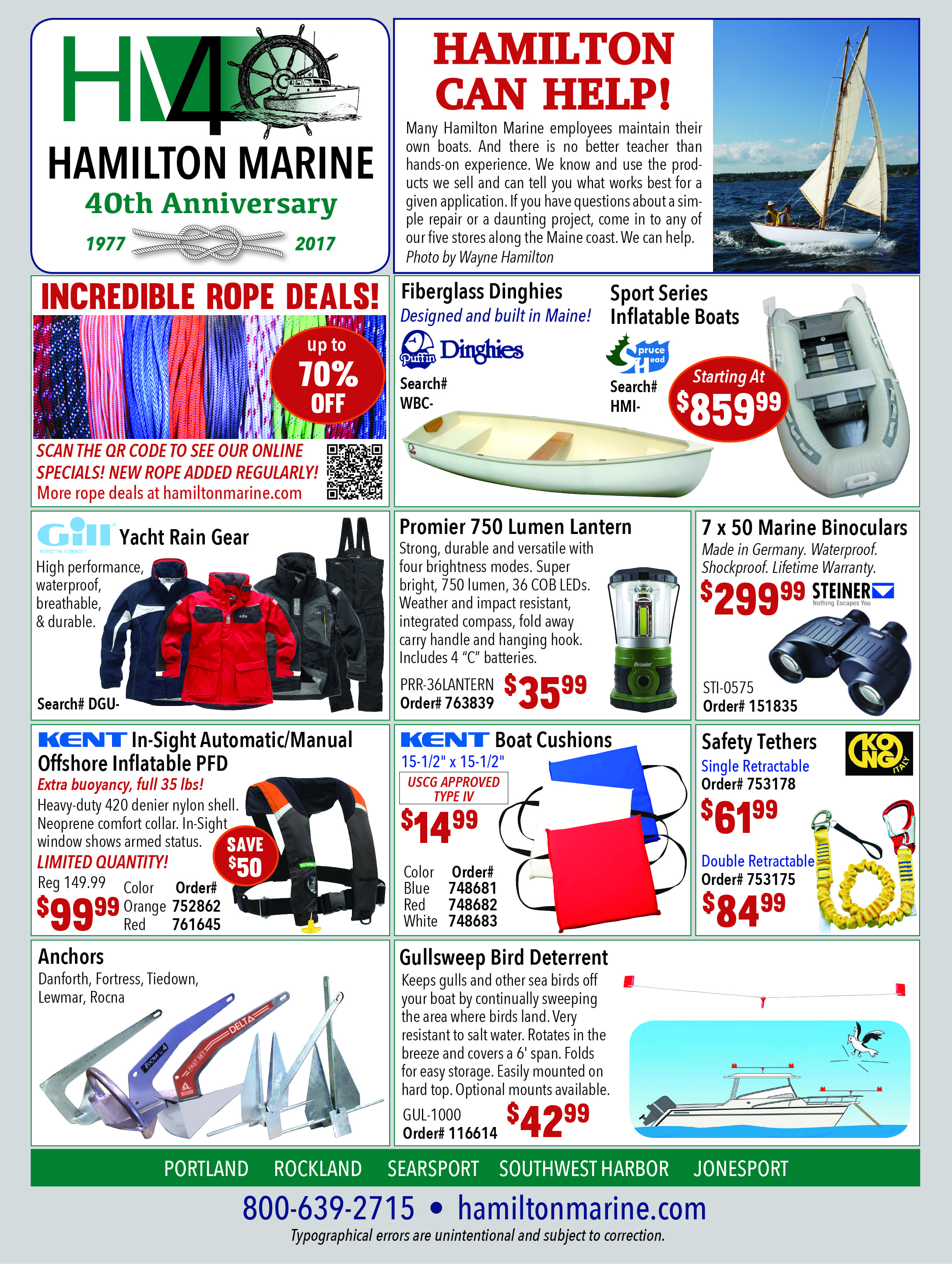 Current Ads Hamilton Marine