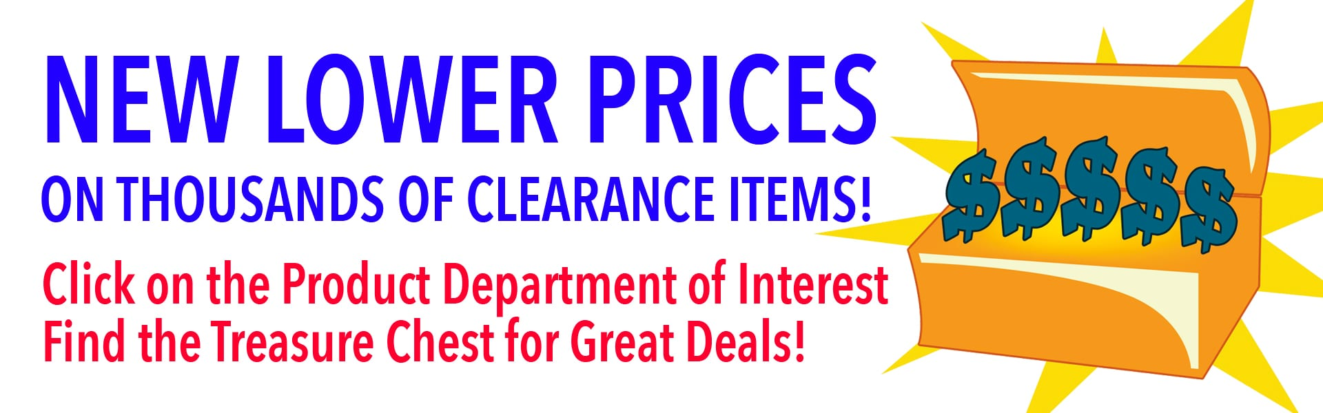 Clearance New Low Prices