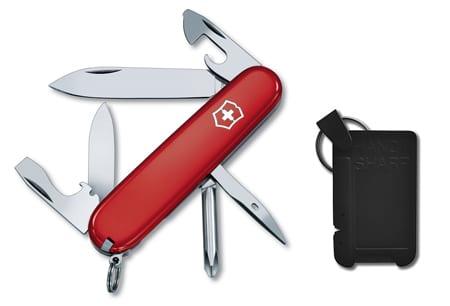 Tinker Knife With Sharpener