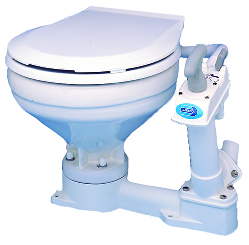 Manual Compact Toilet