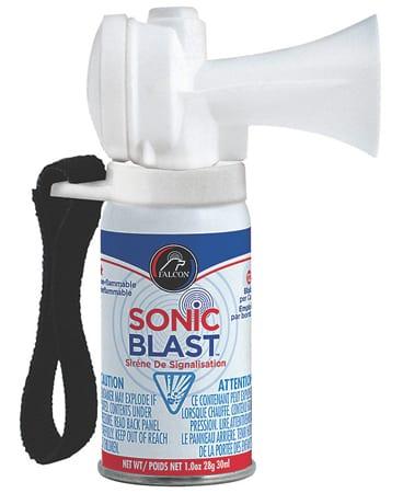 Non-Hazardous Sonic Blast Horn