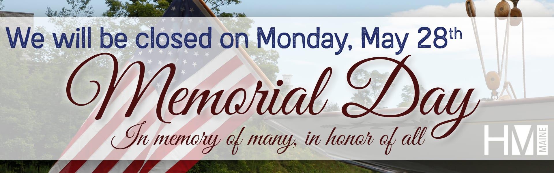 Memorial Day '18