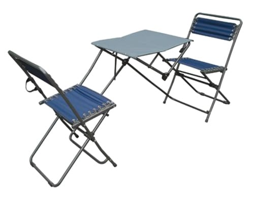 Folding Bistro Table & Chair Set