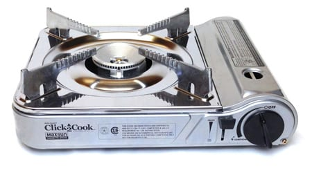 Click 2 Cook Stainless Portable Stove