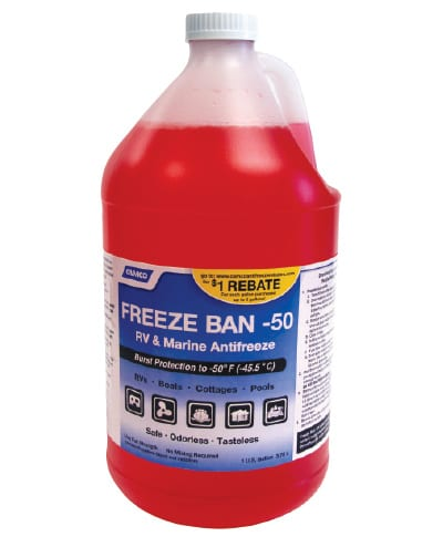Freeze Ban -50º Non-Toxic Antifreeze